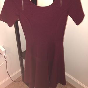 Lush Red fitted Dress